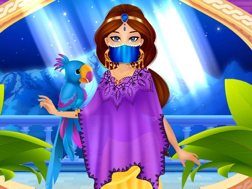 Arabian Princess Dress Up Online