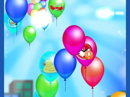 Balloon Popping Games Kids Online